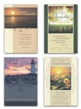 In His Comfort Sympathy Cards (KJV)