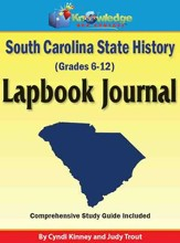 South Carolina State History Lapbook Journal (Printed Edition)