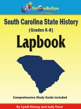 South Carolina State History Lapbook (Printed Edition)