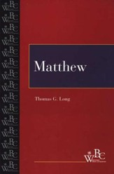 Matthew Westminster Bible Companion