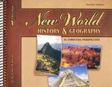 Abeka New World History & Geography Teacher's Edition, Grade  6
