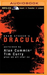 Dracula - unabridged audiobook on MP3-CD