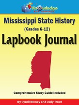 Mississippi State History Lapbook Journal (Printed Edition)