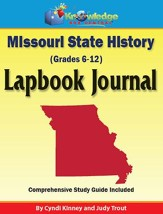 Missouri State History Lapbook Journal (Printed Edition)