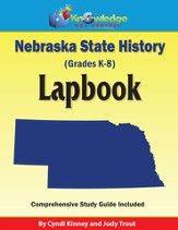 Nebraska State History Lapbook (Printed Edition)