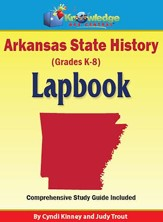 Arkansas State History Lapbook (Printed)