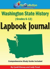 Washington State History Lapbook Journal (Printed)