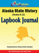 Alaska State History Lapbook Journal (Printed)
