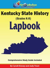 Kentucky State History Lapbook (Printed)