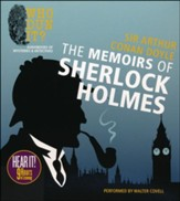 The Memoirs of Sherlock Holmes Unabridged Audiobook on CD