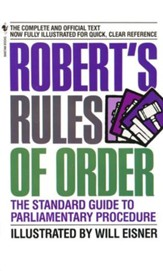 Robert's Rules of Order (William Eisner)  - Slightly Imperfect