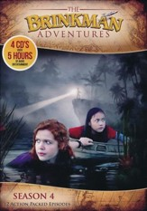 The Brinkman Adventures Season 4 (12  Episodes on 4 Audio CD s)