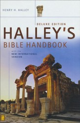 Halley's Bible Handbook with the New International Version, Deluxe Edition (slightly imperfect)