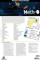BJU Math Grade 4 Visual Packet Teacher's Edition (Third Edition)