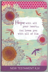 KJV Gift New Testament: Hope with All Your Heart