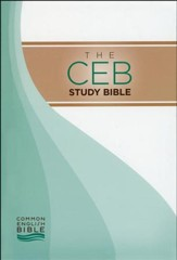 CEB Study Bible - hardcover - Slightly Imperfect