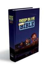 CEB Deep Blue Kids Bible, Hardcover  - Slightly Imperfect