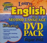 English as a Second Language (ESL) DVD 4 Pack