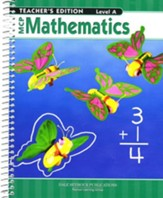 MCP Mathematics Level A Teacher's Edition (2005 Edition) - Slightly Imperfect