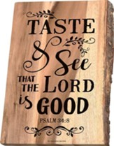 Taste and See That the Lord Is Good Cutting Board