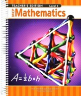 MCP Mathematics Level E Teacher's Guide (2005 Edition)
