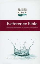 CEB Reference Bible, Hardcover