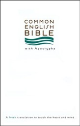 CEB Bible with Apocrypha, Softcover