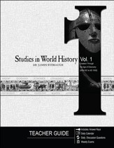 Studies in World History Volume 1  (Teacher Guide): Creation Through the Age of Discovery (4004 BC to AD 1500) - PDF Download [Download]