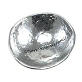 Count Your Blessings, Jewelry Dish, Silver