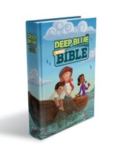 CEB Common English Bible Deep Blue Kids Bible, Bright Sky