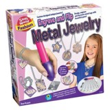 Engrave & Flip Metal Jewelry