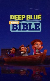 CEB Common English Deep Blue Kids Bible DecoTone Burgundy: Diving Deep into God's Word, Leather, imitation - Slightly Imperfect
