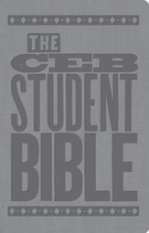 The CEB Student Bible for United Methodist Confirmation, Leather, imitation