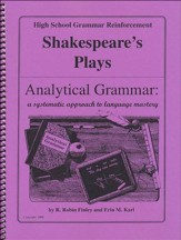 Analytical Grammar: High School Grammar Reinforcement - Shakespeare's Plays