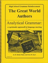 Analytical Grammar: High School Grammar Reinforcement - World Authors