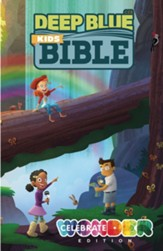 CEB Deep Blue Kids Bible: Celebrate Wonder Edition