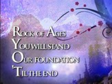 Rock Of Ages You Will Stand - Lyric Video SD [Music Download]