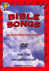 Audio Memory Bible Songs DVD