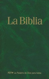 La Biblia Easy to Read Version (ERV) Flexcover Green
