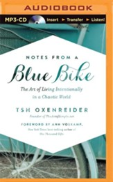 Notes from a Blue Bike, Unabridged MP3-CD
