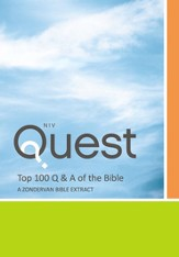 Top 100 Q and A of the Bible: A Zondervan Bible Extract: The Question and Answer Bible / Special edition - eBook