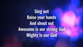 Strong God - Lyric Video SD [Music Download]