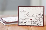Mr. & Mrs. Thank You Notes, Pack of 10