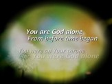 You Are God Alone (Not A God) - Lyric Video SD [Music Download]