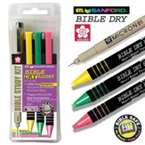 Bible Study Kit, Dry Liner, Set of 4