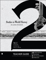 Studies in World History Volume 2 (Teacher Guide): The New World to the Modern Age (1500 AD to 1900 AD) - PDF Download [Download]