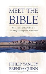 Meet the Bible: A Panorama of God's Word in 366 Daily Readings and Reflections - eBook