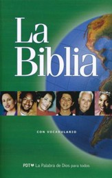 La Biblia Easy to Read Version (ERV) Outreach Bible Paper