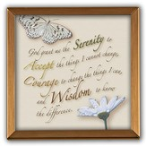 Serenity Prayer Silver Plaque