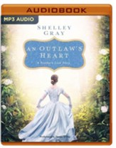 An Outlaw's Heart: A Selection from Among the Fair Magnolias - unabridged audio book on MP3-CD